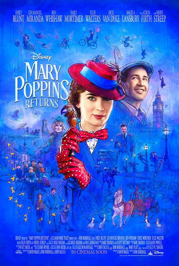 Cartaz do filme Mary Poppins Returns
